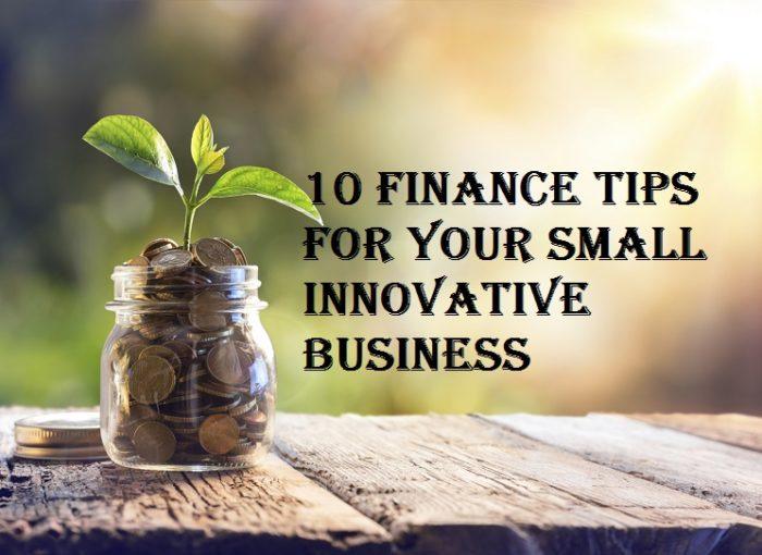 small innovative business