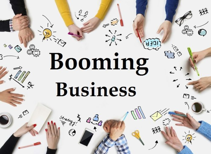 booming business