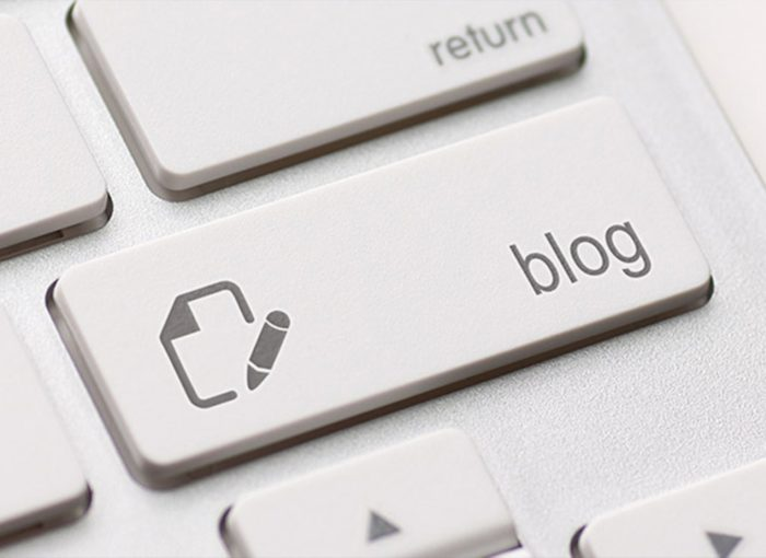 open a corporate blog