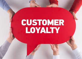 serve a customer to build loyalty